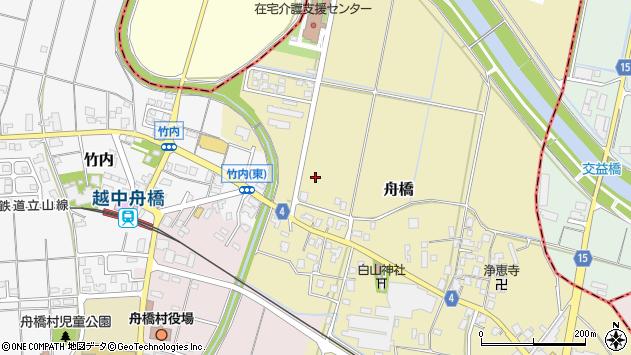 〒930-0281 富山県中新川郡舟橋村舟橋の地図