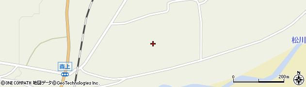 長野県白馬村(北安曇郡)森上周辺の地図