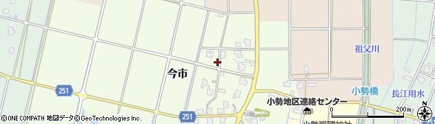 富山県高岡市今市周辺の地図