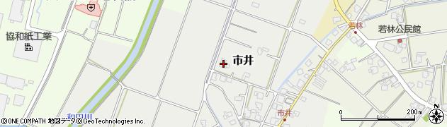 富山県射水市市井周辺の地図
