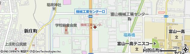 富山県富山市新庄本町周辺の地図