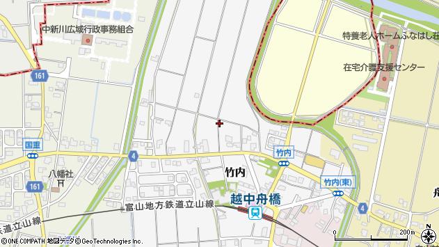 〒930-0289 富山県中新川郡舟橋村竹内の地図