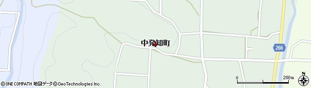 群馬県沼田市中発知町周辺の地図