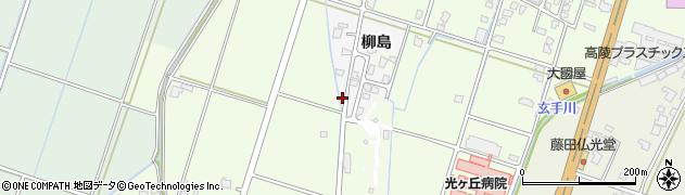 富山県高岡市柳島周辺の地図