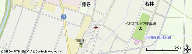 富山県射水市竹鼻周辺の地図