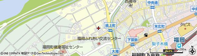 富山県高岡市橋上町周辺の地図