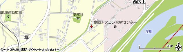 富山県高岡市東二塚周辺の地図