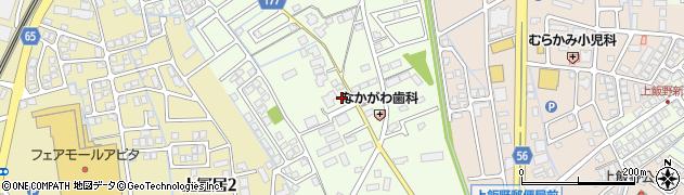 富山県富山市中冨居周辺の地図