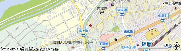 富山県高岡市表元町周辺の地図