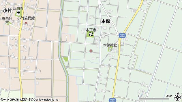 〒933-0333 富山県高岡市本保の地図