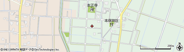 富山県高岡市本保周辺の地図