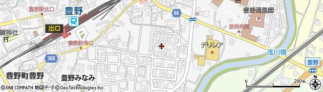 長野県長野市東町周辺の地図