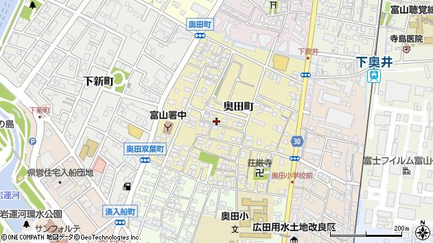 〒930-0818 富山県富山市奥田町の地図