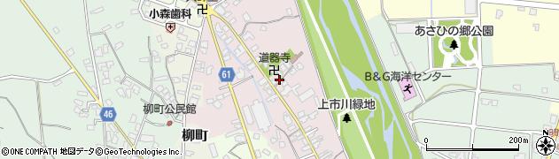 道器寺周辺の地図