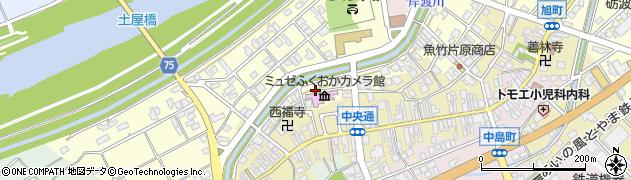 富山県高岡市堀川町周辺の地図