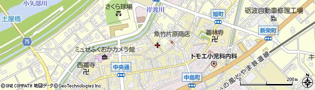 富山県高岡市福岡町福岡周辺の地図