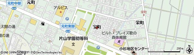 富山県射水市戸破(宝町)周辺の地図