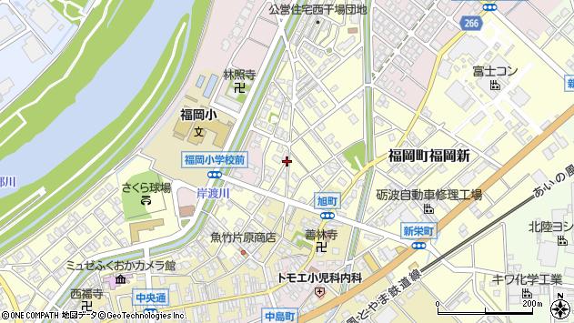〒939-0117 富山県高岡市福岡町福岡新の地図