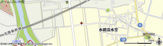 富山県富山市水橋清水堂周辺の地図