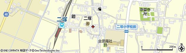 富山県高岡市二塚周辺の地図