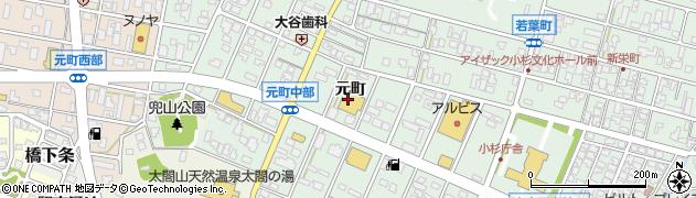 富山県射水市戸破(元町)周辺の地図
