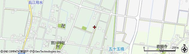 富山県高岡市荒見崎周辺の地図
