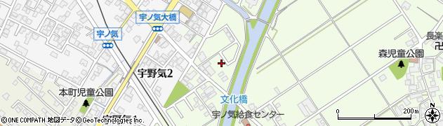 石川県かほく市森ヲ周辺の地図