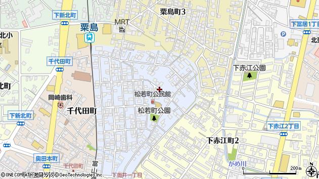 〒930-0812 富山県富山市松若町の地図