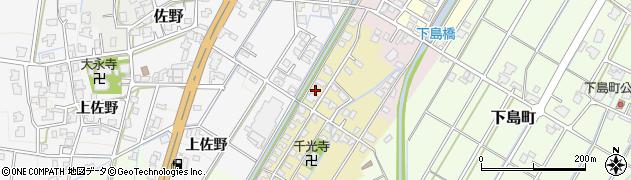 富山県高岡市佐野437周辺の地図