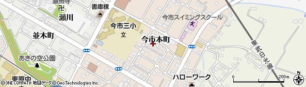 栃木県日光市今市本町周辺の地図