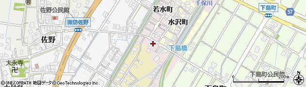 富山県高岡市佐野若水町周辺の地図