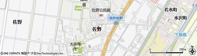 富山県高岡市佐野277周辺の地図
