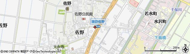 富山県高岡市佐野2264周辺の地図