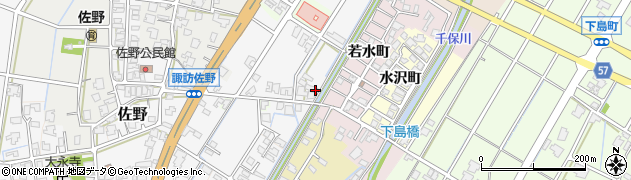富山県高岡市佐野1636周辺の地図