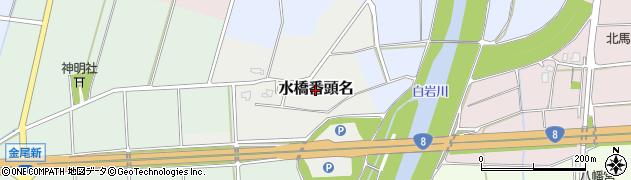 富山県富山市水橋番頭名周辺の地図