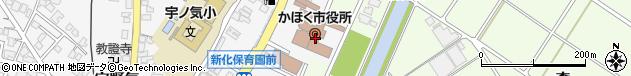 石川県かほく市周辺の地図