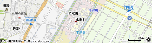 富山県高岡市佐野周辺の地図
