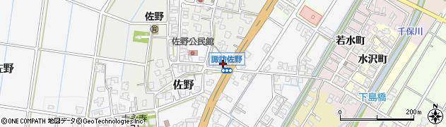 富山県高岡市佐野393周辺の地図