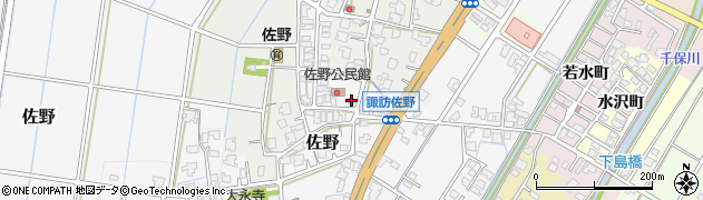 富山県高岡市佐野276周辺の地図