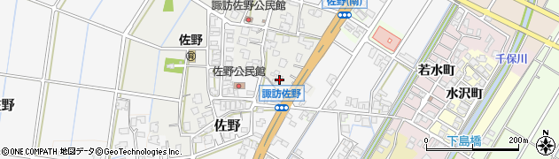 富山県高岡市佐野400周辺の地図