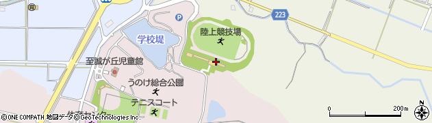 石川県かほく市下山田ヲ周辺の地図