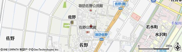 富山県高岡市佐野388周辺の地図