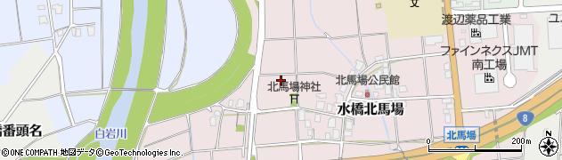 富山県富山市水橋北馬場周辺の地図