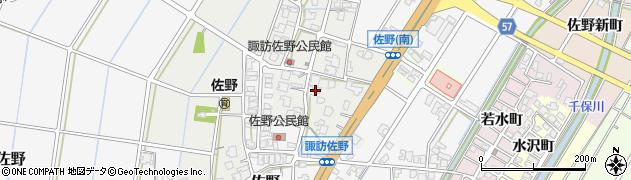 富山県高岡市佐野403周辺の地図