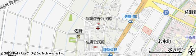 富山県高岡市佐野380周辺の地図