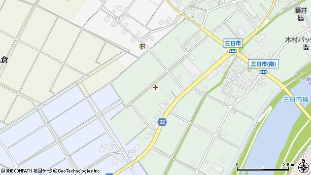 〒939-0102 富山県高岡市福岡町三日市の地図
