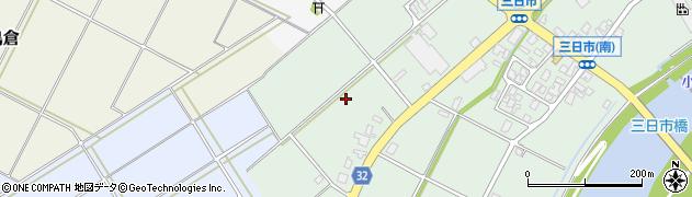 富山県高岡市福岡町三日市周辺の地図