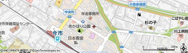 栃木県日光市中央町周辺の地図