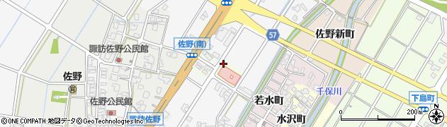 富山県高岡市佐野本町周辺の地図