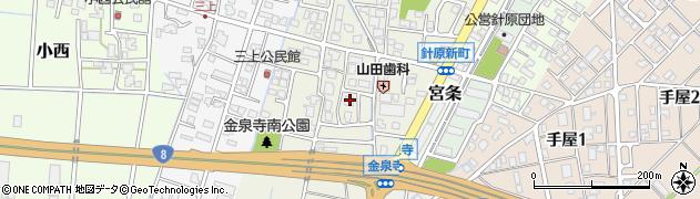 富山県富山市金泉寺周辺の地図